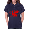 Welsh Dragon Womens Polo