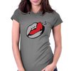 Wet Tongue Womens Fitted T-Shirt