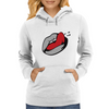 Wet Tongue Womens Hoodie