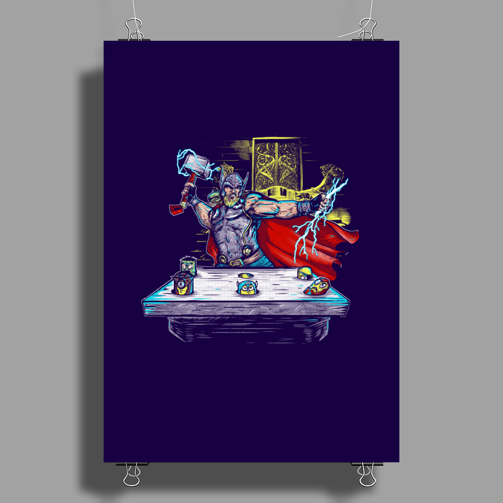 Whack all Minions Poster Print (Portrait)