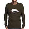 Whale Mens Long Sleeve T-Shirt