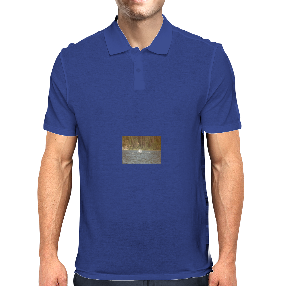 WHALE TAIL! Mens Polo