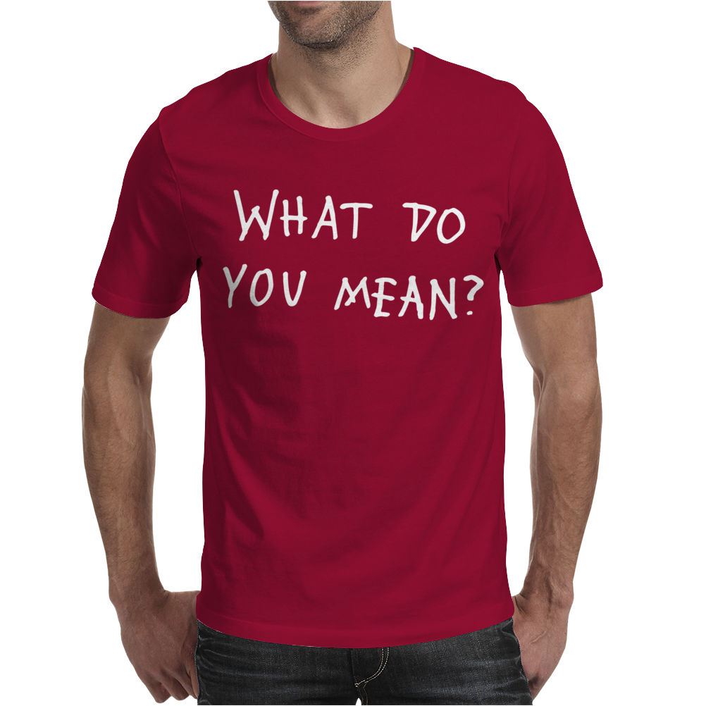 What Do You Mean 2016 Tour Mens T-Shirt