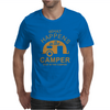 What Happens In Camper Stays In Camper Vintage Style Camp Funny Mens T-Shirt