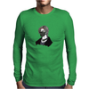 WHAT Mens Long Sleeve T-Shirt