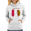 What Up Dog Ketchup Hot Dog Womens Hoodie