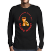 What would Jesus do? Mens Long Sleeve T-Shirt