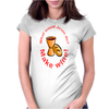 What would Jesus do? Womens Fitted T-Shirt