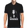 What Would Morticia Do Addams Family Mens Polo