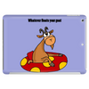 Whatever Floats your Goat Funny Design Tablet (horizontal)