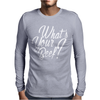What's Your Beef Mens Long Sleeve T-Shirt