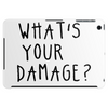 WHAT'S YOUR DAMAGE? Tablet (horizontal)