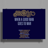 When A Good Man Goes To War Poster Print (Landscape)