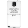 When you are dead Phone Case