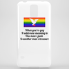 When you're Gay it adds new meaning to one mans junk is another mans treasure Phone Case