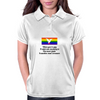 When you're Gay it adds new meaning to one mans junk is another mans treasure Womens Polo