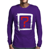 Where Is The Love Mens Long Sleeve T-Shirt