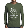 Where My Hoes Mens Long Sleeve T-Shirt