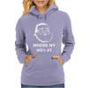 Where My Hoes Womens Hoodie