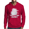 Wheres My Hos At Santa Claus Mens Hoodie