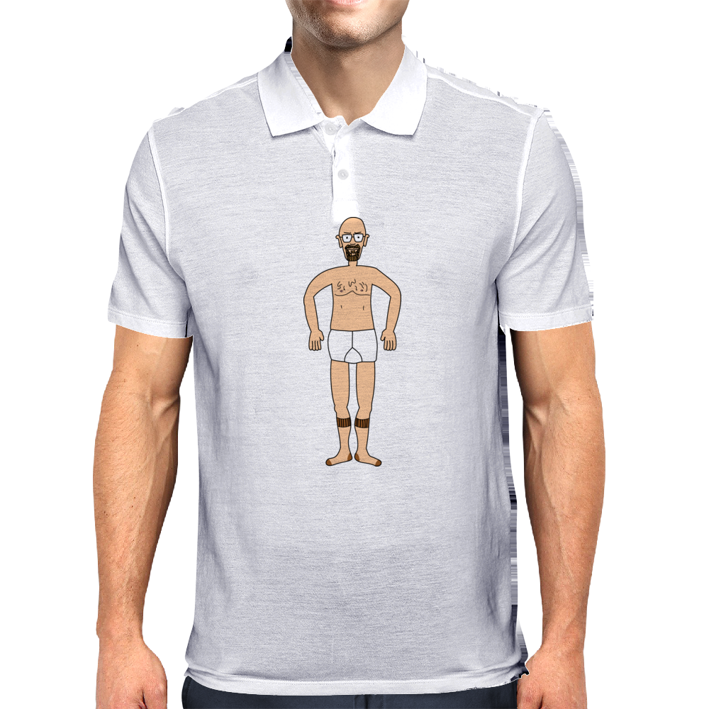 Wheres Walter - Fugue State - Breaking Bad - Heisenberg Mens Polo