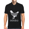 White Adobo Mens Polo
