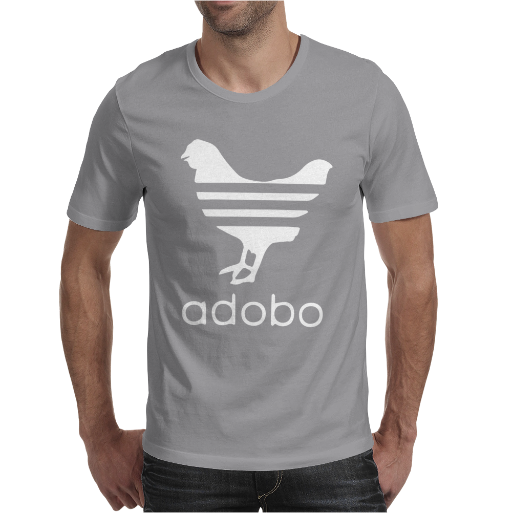 White Adobo Mens T-Shirt