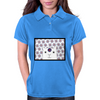 White Creature which is looking at you Womens Polo