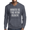 White is the new black Mens Hoodie