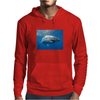 White Pointer Mens Hoodie