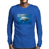 White Pointer Mens Long Sleeve T-Shirt