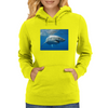 White Pointer Womens Hoodie