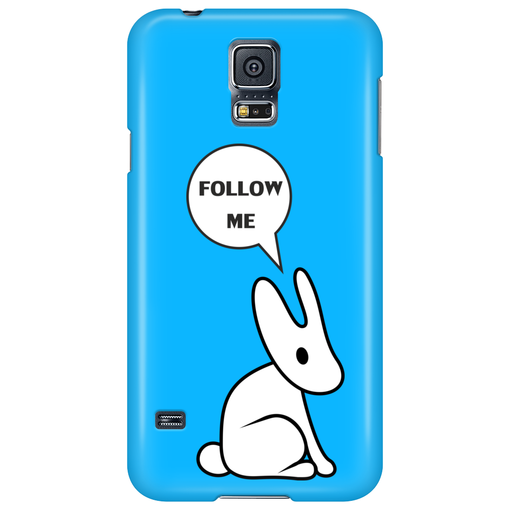 White Rabbit from Matrix Phone Case