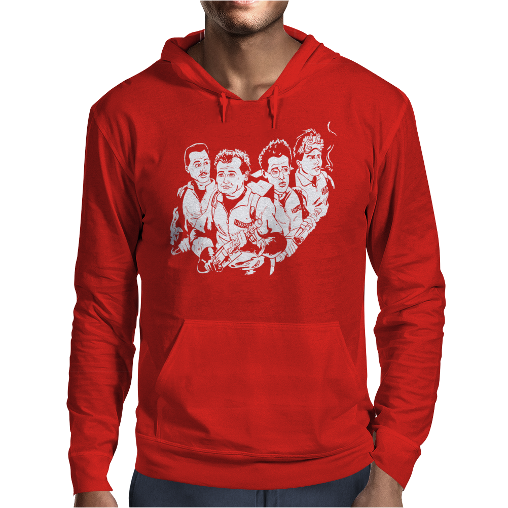 Who You Gonna Call Mens Hoodie