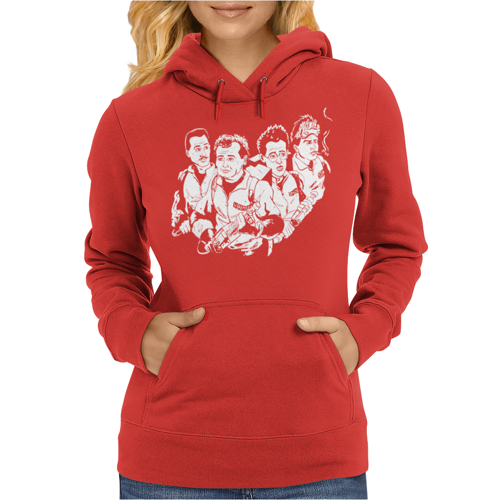 Who You Gonna Call Womens Hoodie