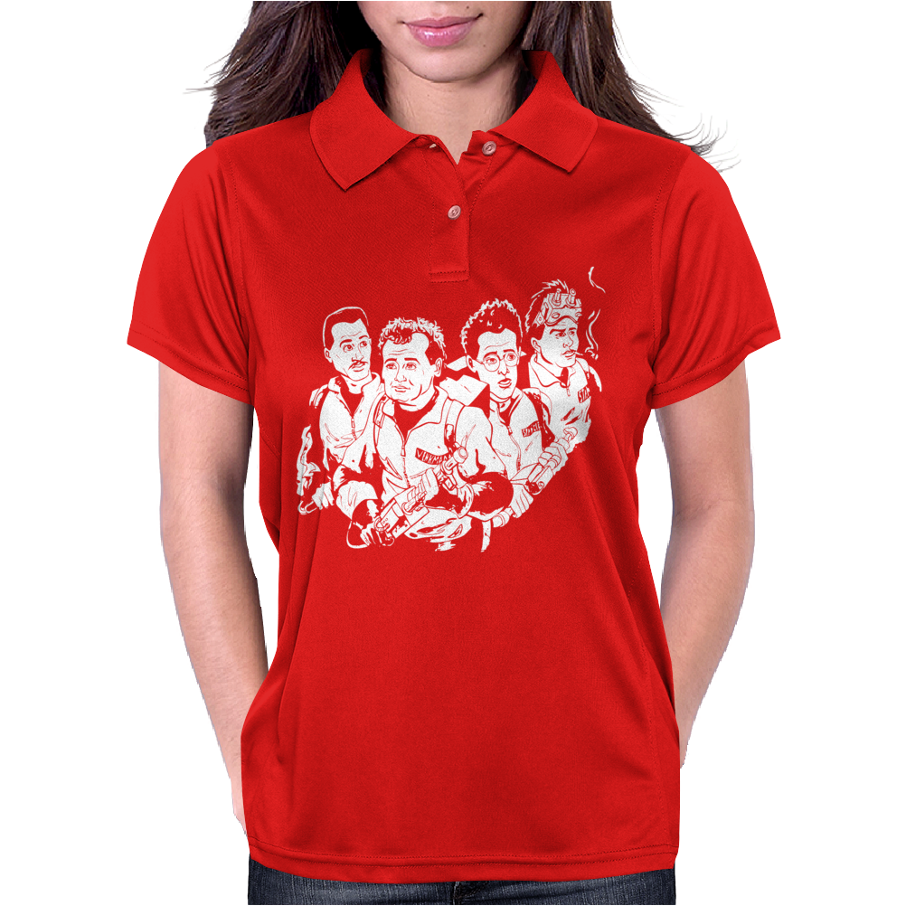 Who You Gonna Call Womens Polo
