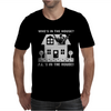 Who's In The House Mens T-Shirt