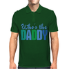 Who's The Daddy Christmas Mens Polo