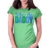 Who's The Daddy Christmas Womens Fitted T-Shirt