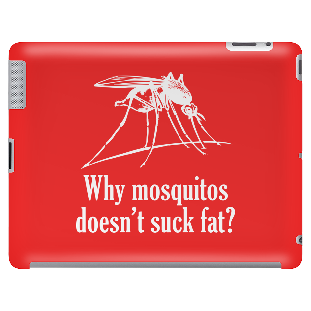 Why mosquitos doesn't suck fat? white Tablet