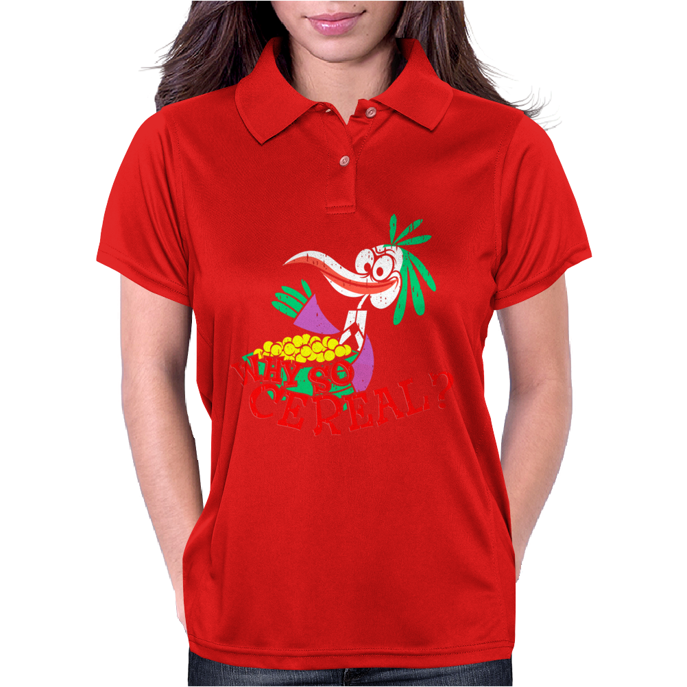 Why so cereal Womens Polo