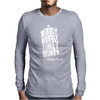 Wibbly Wobbly Timey Wimey Talk Whovian To Me Mens Long Sleeve T-Shirt