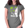 Wicked Broadway Musical About Wizard Of Oz Womens Fitted T-Shirt