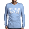 Wicked Smaht Funny Mens Long Sleeve T-Shirt