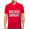 Wicked Smaht Funny Mens Polo
