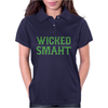 Wicked Smaht Funny Womens Polo