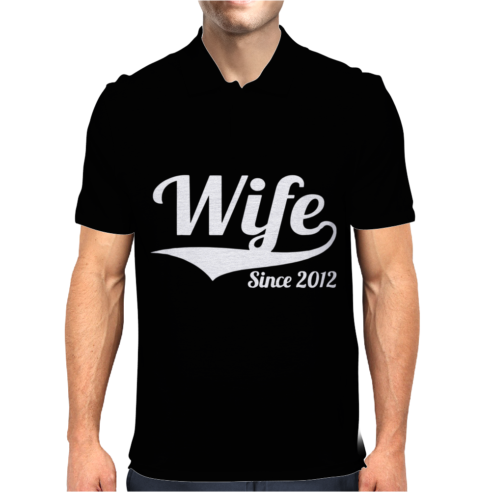 Wife Since 2012 Mens Polo