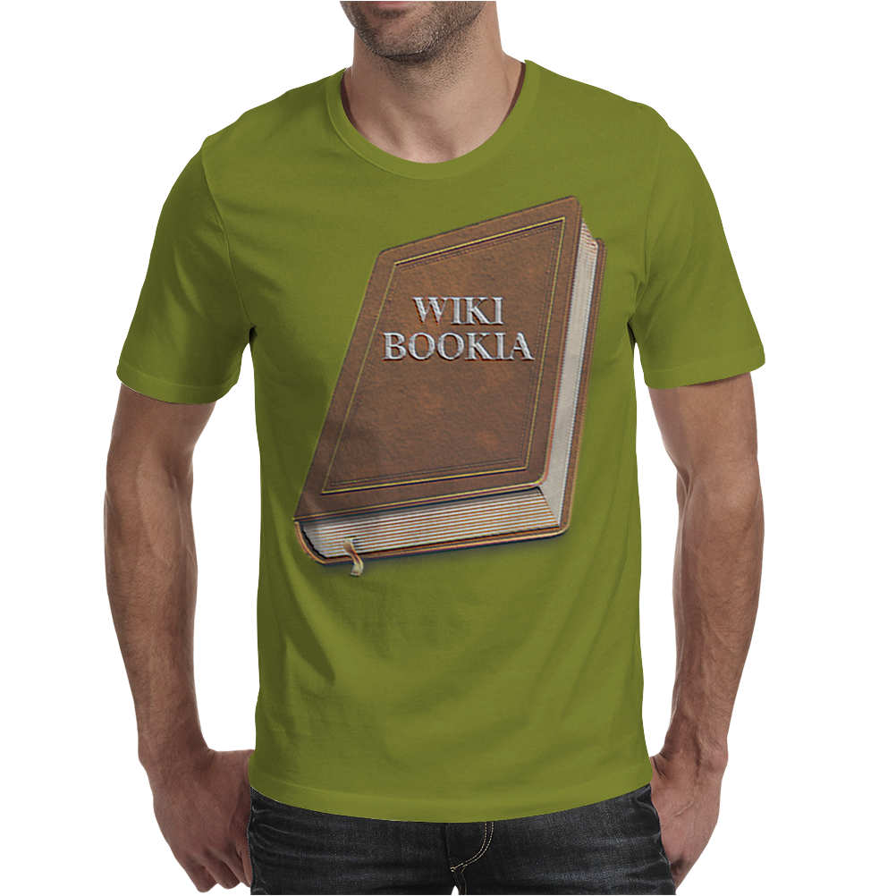 Wikibookia Mens T-Shirt
