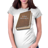 Wikibookia Womens Fitted T-Shirt