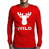 WILD ANIMAL FUNNY Mens Long Sleeve T-Shirt